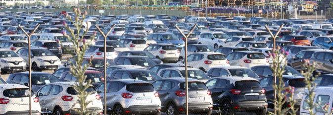 Planta de estacionamiento de Renault