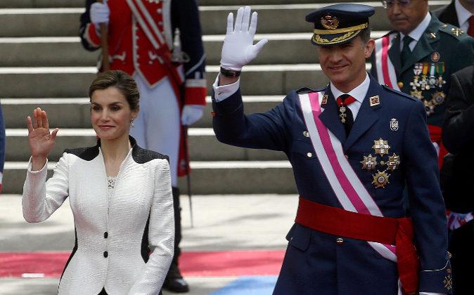 Los Reyes de España, en una imagen de archivo.