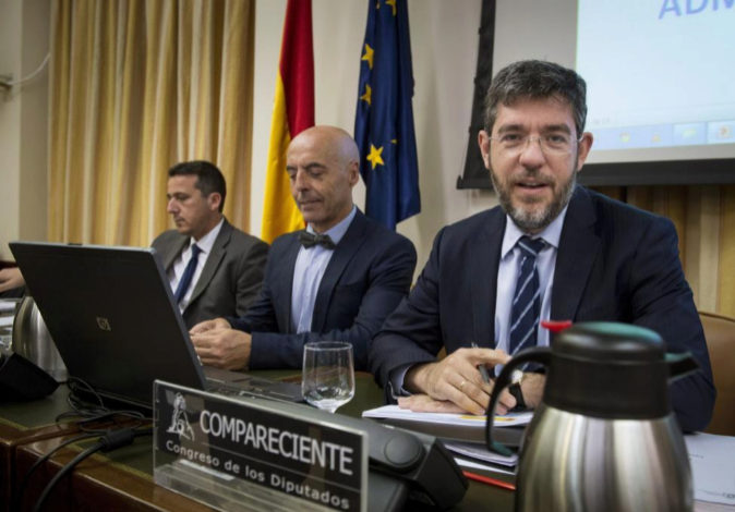 El secretario de Estado de Presupuestos y Gastos, Alberto Nadal,...