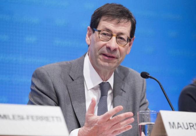 El economista jefe del Fondo Monetario Internacional, Maurice...