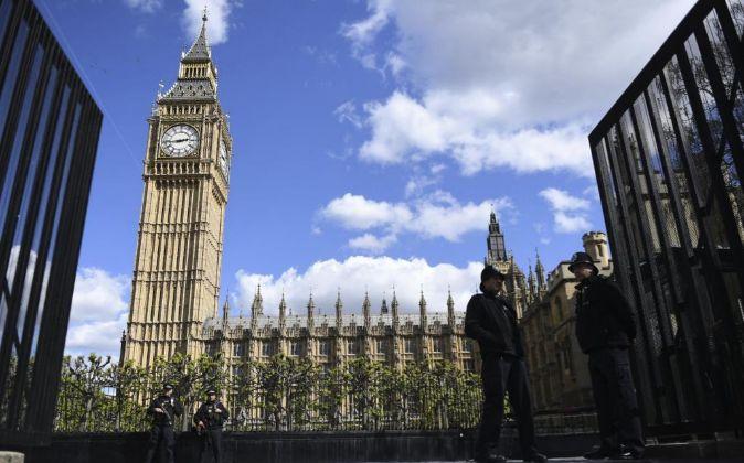 Vista general del Parlamento británico.