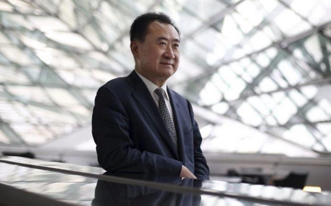 El multimillonario Wang Jianlin es el fundador de Wanda.