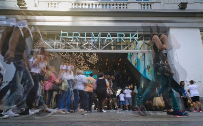Tienda Primark en la Gran Via de Madrid.