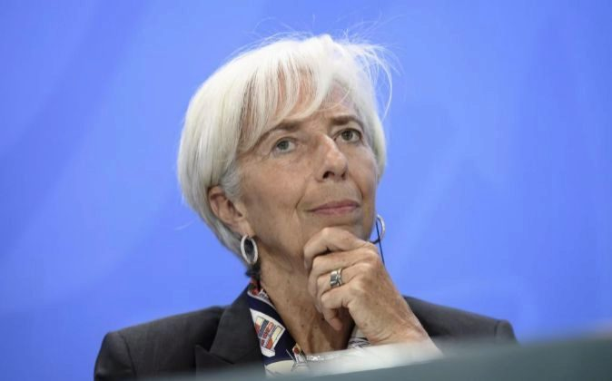 La directora del Fondo Monetario Internacional (FMI), Christine...