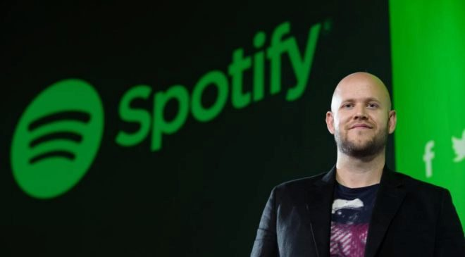Daniel Ek, CEO de Spotify.