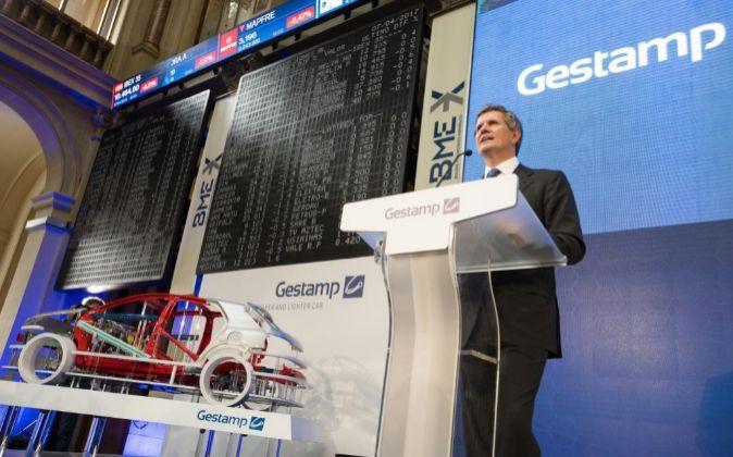 Gestamp comenzó su andadura bursátil el pasado 7 de abril.