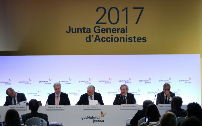 Junta de Accionistas de Gas Natural Fenosa