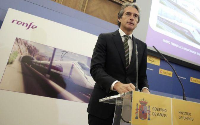 Foto de archivo del ministro de Fomento, Íñigo de la Serna.