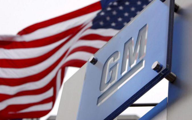 Logo de General Motors.