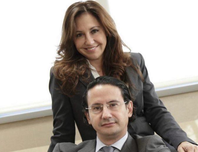 Arancha y José Luis Manzanares, en la sede de Ayesa.