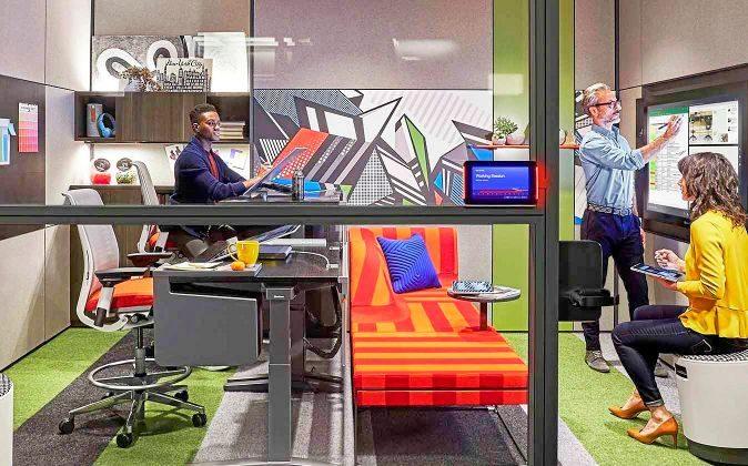 Duo Studio. Uno de los nuevos espacios de trabajo con los que cuentan...