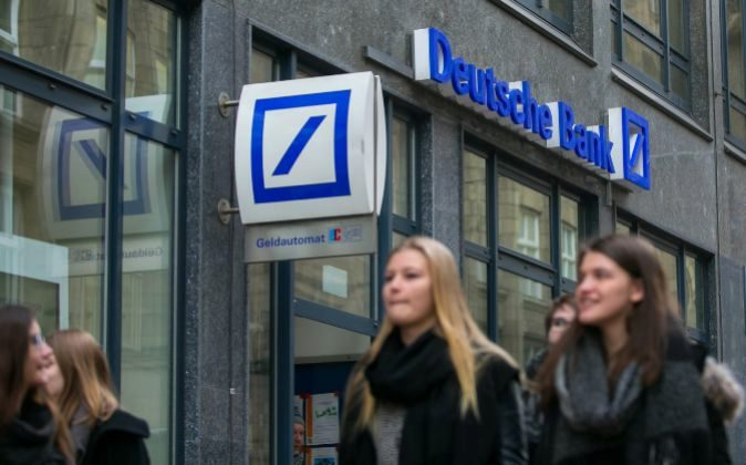 Sucursal de Deutsche Bank en Hamburgo (Alemania)