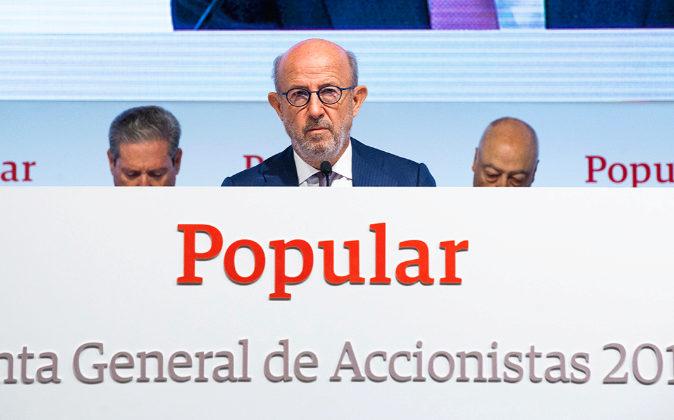 Emilio Saracho, presidente de Banco Popular.