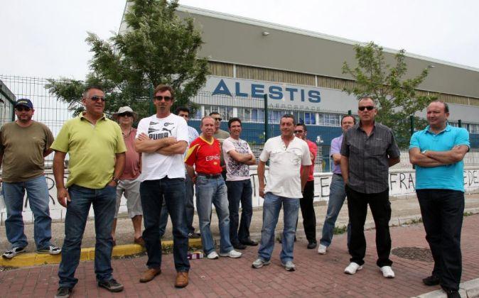 Trabajadores de ALESTIS