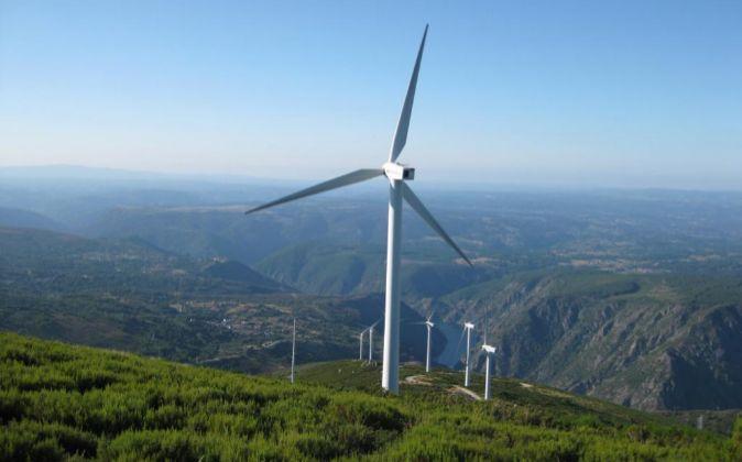 Parque eólico de Iberdrola.