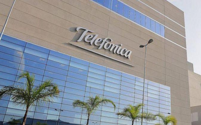 Centro de datos de Telefónica en la ciudad de Santana do Parnaiba...