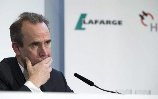 El consejero delegado de LafargeHolcim, Eric Olsen, ha renunciado hoy...