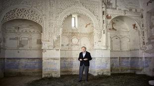 Rafael Moneo, en el interior de la capilla mudéjar (declarada...