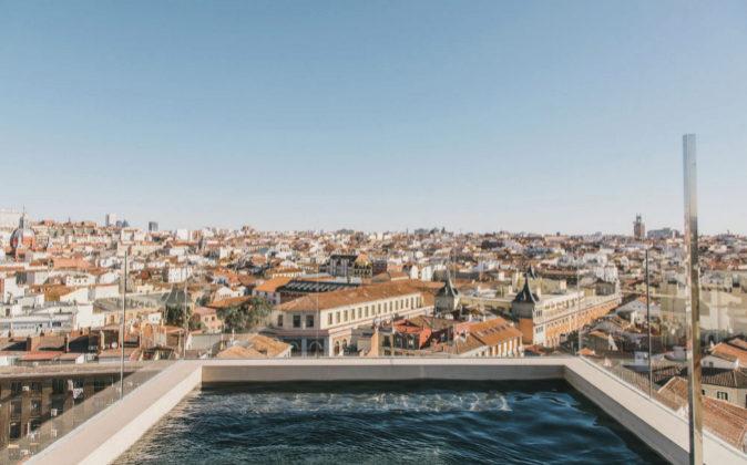 Una de las panorámicas de las que se puede disfrutar en la terraza...