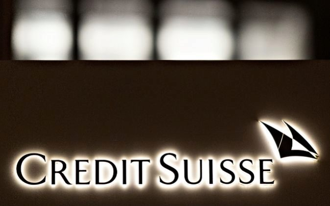 Logo de Credit Suisse.
