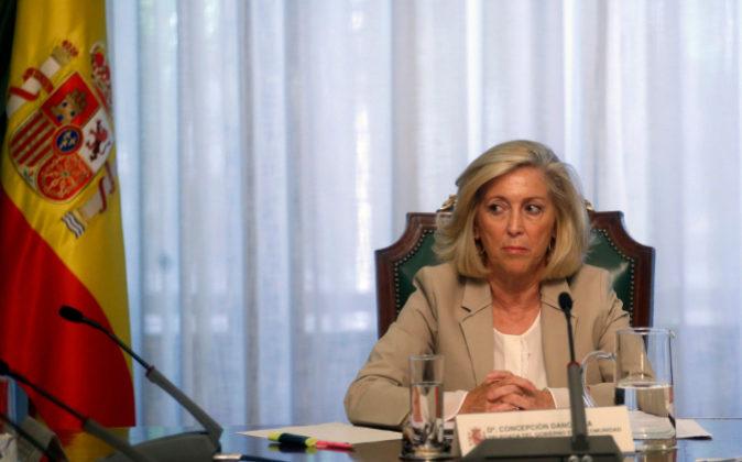 La delegada del gobierno Concepció Dancausa, en una imagen de...