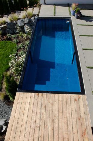 Modpool presenta unas piscinas spa port tiles realizadas for Como se hace una piscina de hormigon