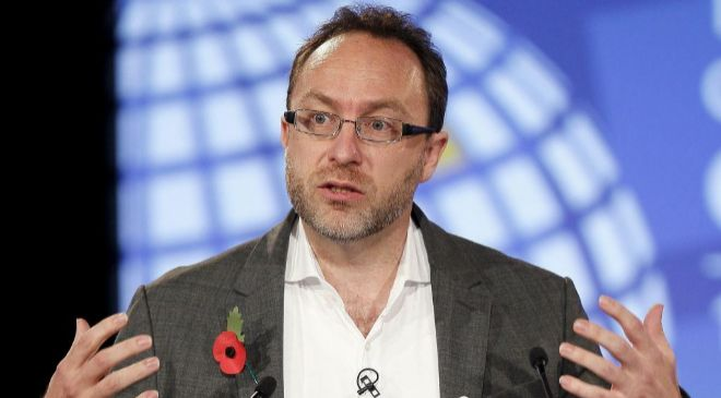 Jimmy Wales, fundador de Wikipedia.