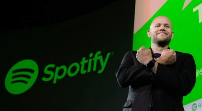 Daniel Ek, co fundador y CEO de Spotify