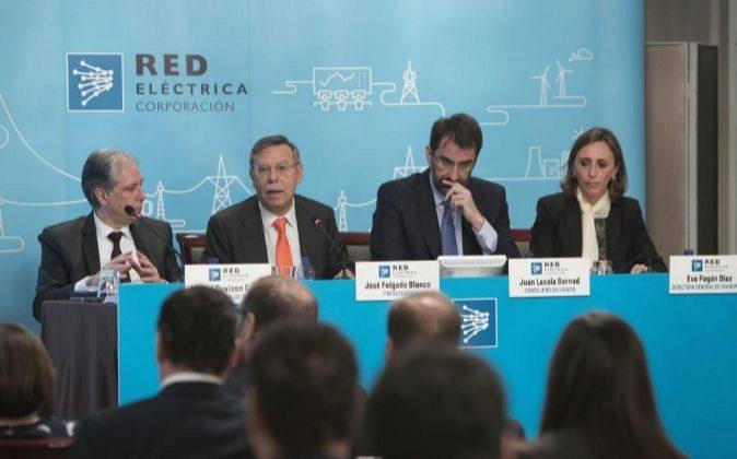 Junta General de Accionistas de Red Electrica. Foto: P. Moreno.