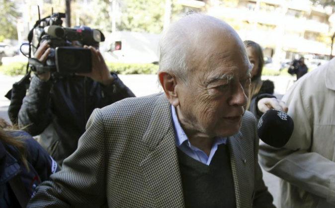 El expresidente de la Generalitat Jordi Pujol, el pasado 28 de octubre...