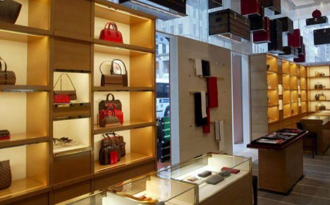 Tienda de Louis Vuitton en la Quinta Avenida de Nueva York