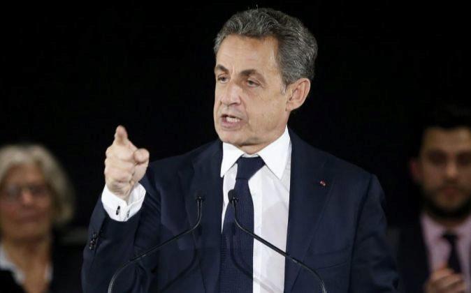 El expresidente francés, Nicolas Sarcozy.