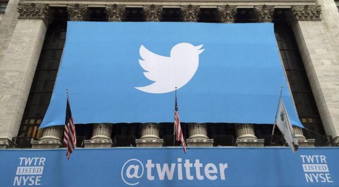 La Bolsa de Nueva York el día del debut bursátil de Twitter.