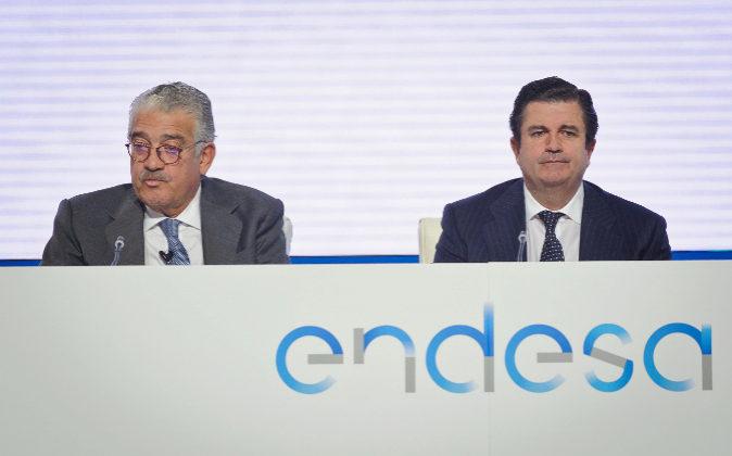 Borja Prado, presidente de Endesa, en la Junta General de Accionistas...