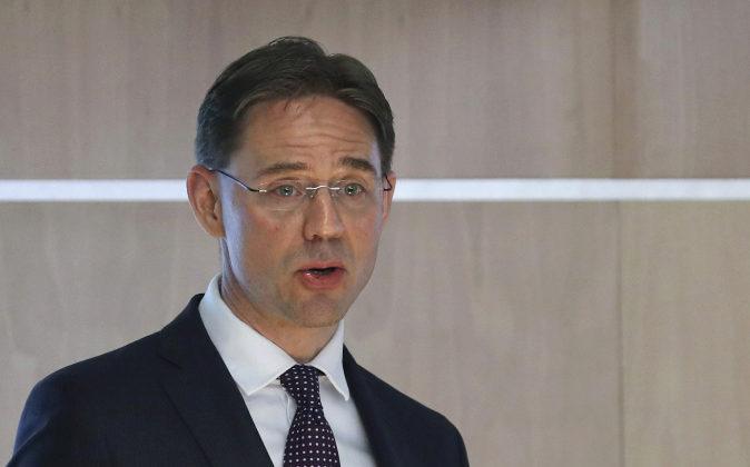 Jyrki Katainen, vicepresidente de la Comisión Europea