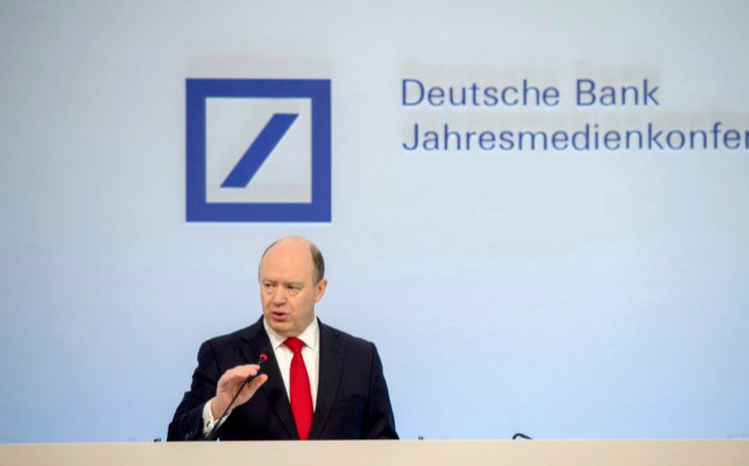 El presidente de Deutsche Bank, John Cryan.