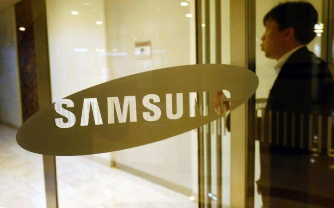 Logo de Samsung.