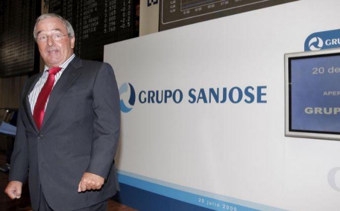 El presidente del grupo San José, Jacinto Rey.