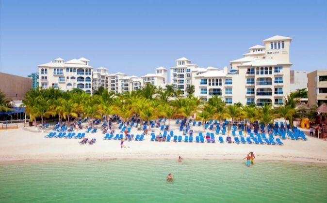 El Hotel Occidental Costa Cancún, en México.