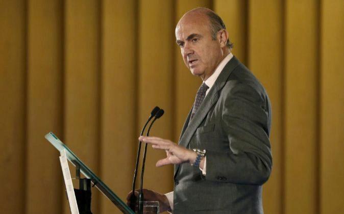 El ministro de Economía, Industria y Competitividad Luis de Guindos.