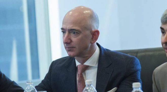 El consejero delegado de Amazon Jeff Bezos.