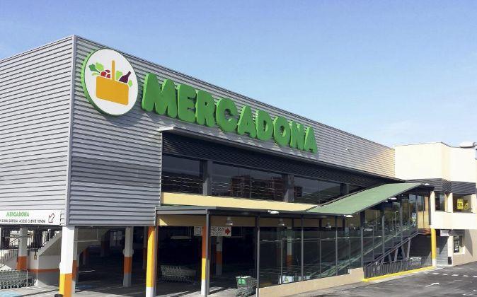 Supermercado de Mercadona en El País Vasco.