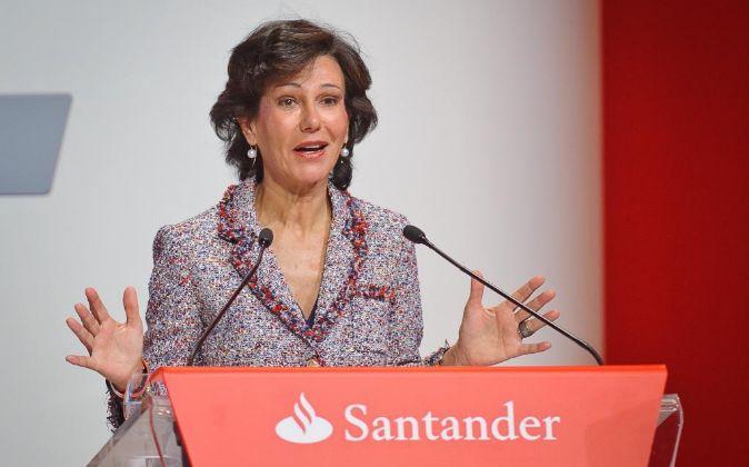 Ana Patricia Botín-Sanz de Sautuola O'Shea, banquera española,...