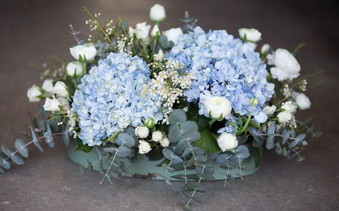 Las dimensiones de las hortensias las hace unas flores muy especiales.