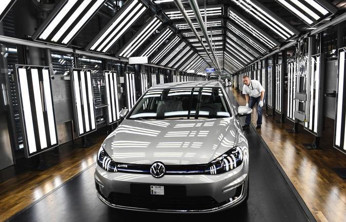 Línea de montaje de Volkswagen