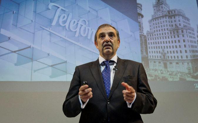 Luis Miguel Gilpérez, presidente de Telefónica España.
