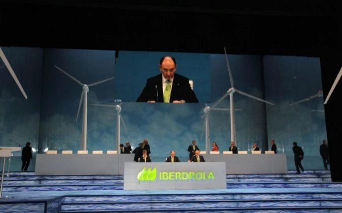 Imagen de la última junta de accionistas de Iberdrola