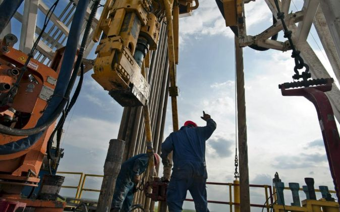 Imagen de una instalación de 'shale oil' en EEUU
