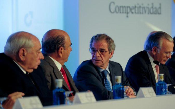 Reunión del Consejo Empresarial para la Competitividad, con la...