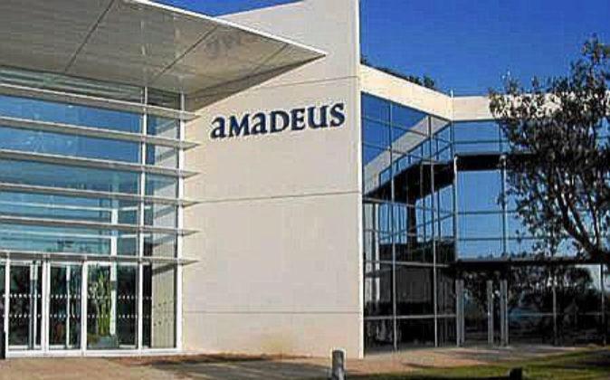 Exterior de la sede de Amadeus.